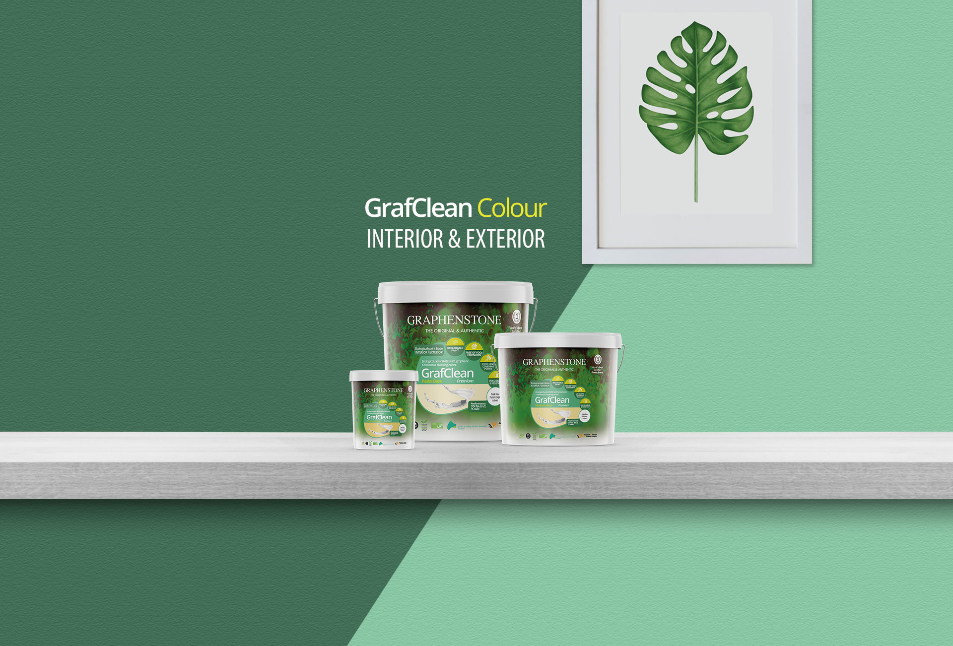 Graphenstone ecological paints